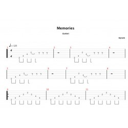 Memories Tabs (Desert Call Album)