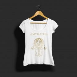 White Girly Hand T-Shirt